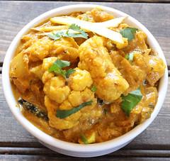 Cauliflower Lababdar (kushigalu) Tags: food dinner recipe lunch vegan indian vegetarian spicy diet creamy foodie glutenfree nomnom