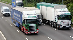 H6921 Elodie Faith PJ14 RKE  AWJ  PX14 SXS (Barrytaxi) Tags: t photoblog lorry photoaday eddie 365 lorries stobart eddiestobart