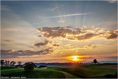 Stocki (Hanspeter Ryser) Tags: willisau stocki sonnenuntergang landschaft luzern swiss swizerland schweiz wolken landscap sonne sunset