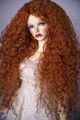Merida - Rebelle - hairstyle (Amadiz) Tags: cosplay merida wig brave bjd bianca rebelle iplehouse
