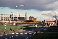 47520, Duddeston, Birmingham, February 1989 (David Rostance) Tags: birmingham gasworks nechells class47 47520