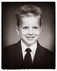Todd (Oliver Leveritt) Tags: 35mm film blackandwhite monochrome sepia platinum boy child portrait