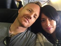 plane selfie (irene_joy) Tags: plane mexico cabo eric irene selfie