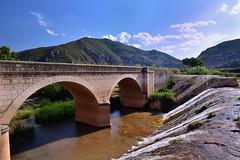 Ro Tujar (ignacio_deluis) Tags: bridge ro river landscape puente paisaje