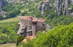 Meteora - Rousanou Monastery (Ava Babili) Tags: greece meteora greekorthodoxmonastery challengeyouwinner  rousanoumonastery roussanoumonastery cyunanimous