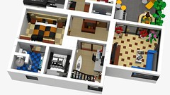 Motorgerte Fachhndler (Power Equipment Dealer) 1.0 14 (-Nightfall-) Tags: lego elevator modular moc powerequipment modularbuilding