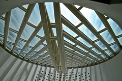 view from Museum of Modern Art, new, San Francisco, SF MOMA, oculus, (David McSpadden) Tags: bridge new oculus sanfrancisco sfmoma viewfrommuseumofmodernart