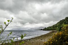 La tormenta (lugarlu) Tags: naturaleza mar escocia viajes nubes nikond7000