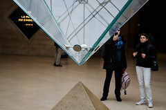 Paris (ninaa_x) Tags: paris louvre du architektur stein pyramide glas carrousel einkaufspassage inverse