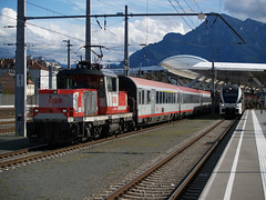 BB 1163 005 (jvr440) Tags: railroad salzburg train oostenrijk railways hbf bb trein spoorwegen