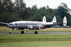 Constellation (Antoine Cascail) Tags: aviation avion lockheed constellation breitling belgianairforceday airshow