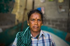 Salt makers (Akilan T) Tags: portrait woman india lady salt worker chennai tamilnadu saltpan cwc saltmaker marakanam chennaiweekendclickers cwc536