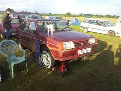 The wheel of misfortune (quicksilver coaches) Tags: lada samara autoshite shitefest j307spj