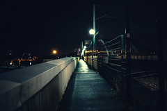On the bridge (Digic-Vision) Tags: bridge art night 35mm canon 14 sigma lightroom 6d