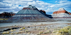 Blue Mesa (kirilko) Tags: arizona usa southwest nationalpark independenceday fujifinepix petrifiedforest bluemesa fujix100 fujifixepixx100