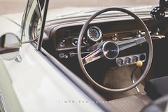 get behind the wheel (riggsy23) Tags: classic chevrolet car wheel canon vintage 50mm steering antique seat air 14 front bel drivers
