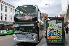 Nottingham City Transport 941 (Ash Hammond) Tags: nottinghamcitytransport 941 eastlancsomnidekka scanian270ud yn07eyj
