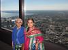Toronto-15.16 (davidmagier) Tags: portrait urban toronto ontario canada scenic jewelry can aerial bindi aruna saris shawls mataji