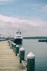 The big yacht does not look so big (bratli) Tags: yacht big greenport ny northfork longisland