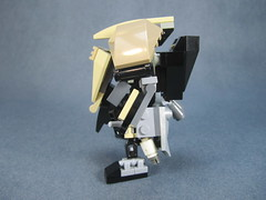 Side view (Messymaru) Tags: original infantry robot lego grunt mecha mech moc