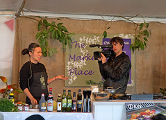 Action! (mgjefferies) Tags: food art festival artist australia chef po queensland hampton yeow mgjefferies polingyeow