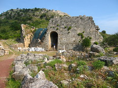 Ancient theater entrance (Radu Bucuta) Tags: holiday turkey easter dalyan caunos 2013 turcia kaunos