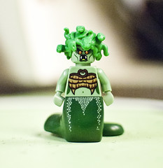 Medusa (littlebearries) Tags: lego medusa minifigures series10