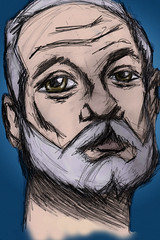 Bill-Murray-Ink (StevePaulMyers) Tags: socks paul monkey design sketch bill steve murray myers
