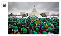Climate Protest (WWF - Global Photo Network) Tags: climatechange wwf renewableenerfy seizeyourpower