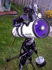 My First Astrophotography Rig (Trevor D. Jones) Tags: canon 50mm jones trevor mini equipment telescope ii astrophotography rig orion astronomy dslr phd newt celestron dsi meade schmitt lxd55 cg5 450d ascg5