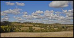 Autumn in Meopham (hillandsky) Tags: autumn clouds canon kent fields meopham eos50d hillandsky