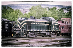 Jersey Central RS-3 Vintage (smbrooks_2000) Tags: railroad train vintage rail pa locomotive scranton steamtown alco newjerseycentral rs3