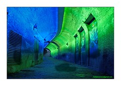 Tale of light (Willy Boerema) Tags: light utrecht tunnel tale lumen trajectum