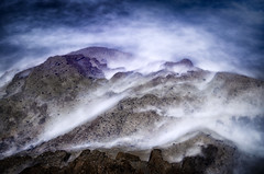 Wisps (Doug Knisely) Tags: ocean longexposure blur water nikon waves shore tidepools pointloma hardlight d5100 28300vr