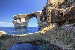 The Azure Window (reflections) (In2ShT) Tags: sea island mare malta mediterraneansea isola gozo azurewindow marmediterraneo canon550d kissx4 eosdigitalrebelt2i lafinestraazzurra