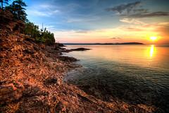 Sunset at Presque Isle Park, Marquette, Michigan (ap0013) Tags: park sunset usa mi michigan mich pure isle marquette presque presqueisle marquettemi presqueislepark marquettemichigan puremichigan