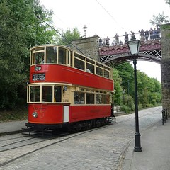 London Passenger Transport Board, Car No.1622. National Tramway Museum, Crich Tramway Village