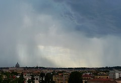 Clear sky beyond the clouds (Silvana *_*) Tags: storm rome roma water rain acqua pioggia temporale