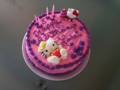 Hello Kitty cake by Brenda L, Santa Cruz, CA, www.birthdaycakes4free.com