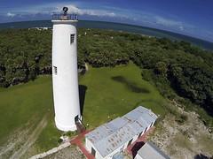 Gopro Egmont Key Lighthouse II (NestorDesigns) Tags: park trees sky kite beach water tampa landscape island photography sand florida kites kap pilot kiteaerialphotography fortdesoto rigs parafoil picavet brooxes peterlynn plk 2m2 egmontkeylighthouse