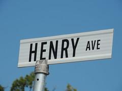 Henry Avenue (knightbefore_99) Tags: street city blue sky canada sign metal winnipeg manitoba pole henry avenue prairies mb northend