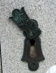 Miller- lily Keyhole cover- open