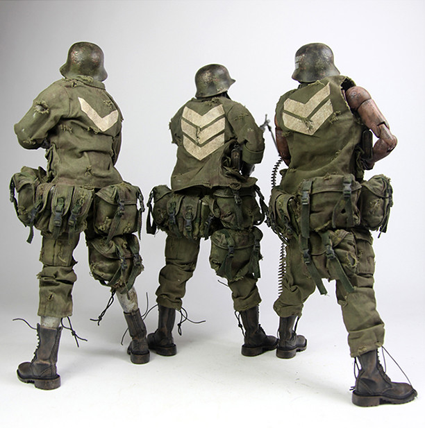 threeA - AKLUB Dead Easy Corp ZOMB MD CRACK ZOMB SOLDIERS set