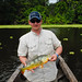 "Mike Dickerman with 2.14 Peacock Bass • <a style=""font-size:0.8em;"" href=""http://www.flickr.com/photos/101688182@N03/9734813533/"" target=""_blank"">View on Flickr</a>"