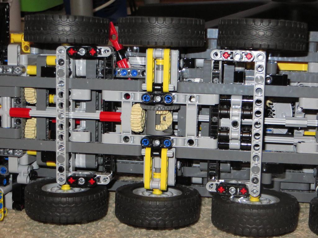 lego technic crane 42009 instructions