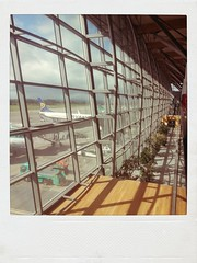 gate 80... (urbantraveller) Tags: mobile polaroid photography airport gate phone cork samsung galaxy 80 s3 departures android aeroplanes flickrandroidapp:filter=none