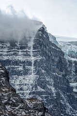 Athabasca Glacier, Icefield Parkway, Alberta, Canada (goneforawander) Tags: road park travel canada nature landscape nikon scenery jasper alpine national backpacking alberta valley parkway bow banff icefields d90 goneforawander enzedonline