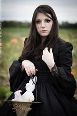 The Pumpkin Patch (gloomth) Tags: autumn fall halloween girl field pumpkin clothing witch farm pumpkins gothic goth patch autumnal witchy gloomth