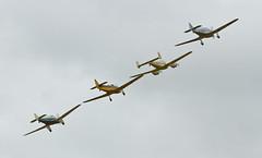 Miles aircraft flypast - 3 (NickJ 1972) Tags: major hawk aviation c collection airshow whitney falcon miles straight m3 pageant shuttleworth gemini trainer m11 2012 m14 m65 magister oldwarden gajrs p6382 gaeeg gakkh gaerv seafn