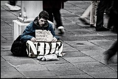 QA261834 - Homeless, hungry, hopeful (Derek Midgley) Tags: world life street walking homeless need goes hungry past existence hopeful needy on istillhaventfoundwhatimlookingfor